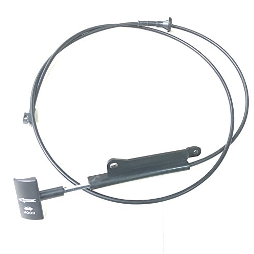 JSD LX912043 F4ZZ16916A Hood Release Cable with Pull Handle fits 1994-2004 Ford Mustang Ref# 912-043