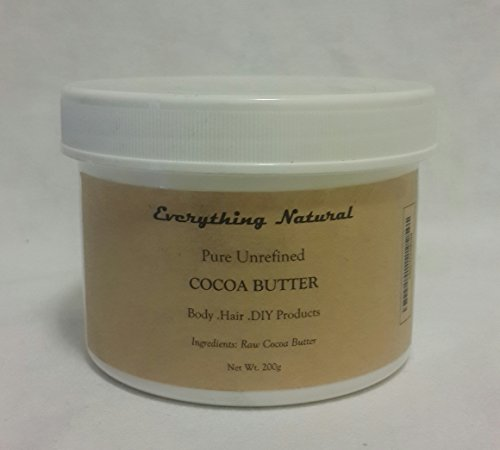 unrefined-organic-cocoa-butter-200g-7oz-raw-100-pure-food-grade-with-natural-cocoa-scent-use-in-diy-