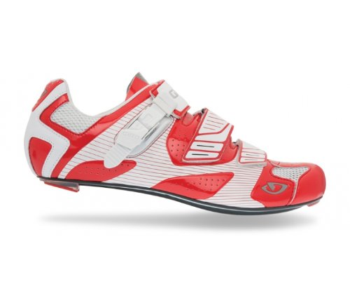 Giro Factor Road Shoes Red/White iVEXoOP