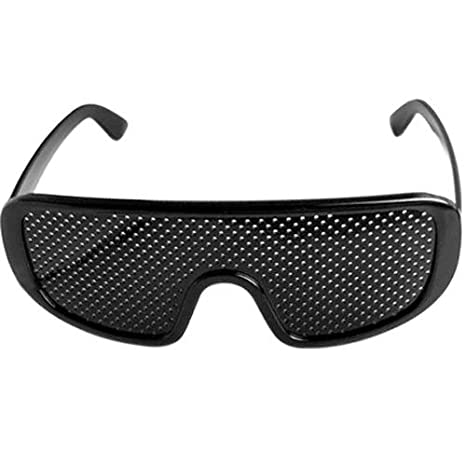 348faba8f290 Pinhole Glasses Vision Eyesight Improve Eyes Exercise A  Amazon.ca  Sports    Outdoors