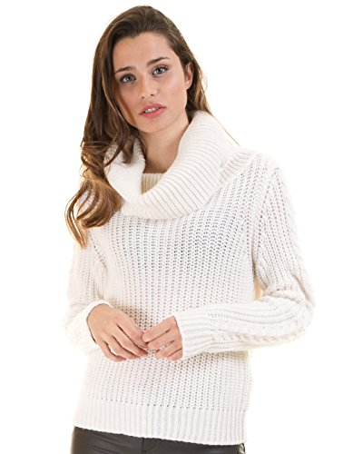 Turtleneck Knit VICHRISTIANA by Vila Clothes (M - White)