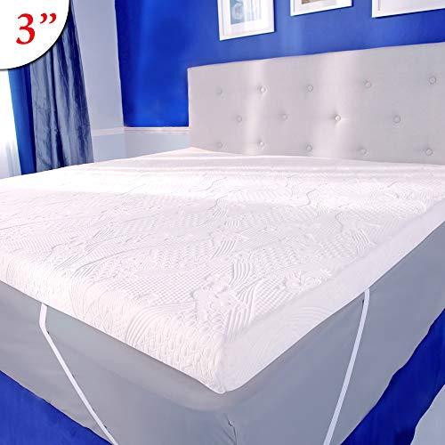 Mypillow Three Inch Mattress Bed Topper Queen