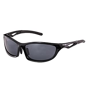 Duco Polarized Sunglasses for all Outdoor sports and 100% TR 90 Flexible Frame 6211