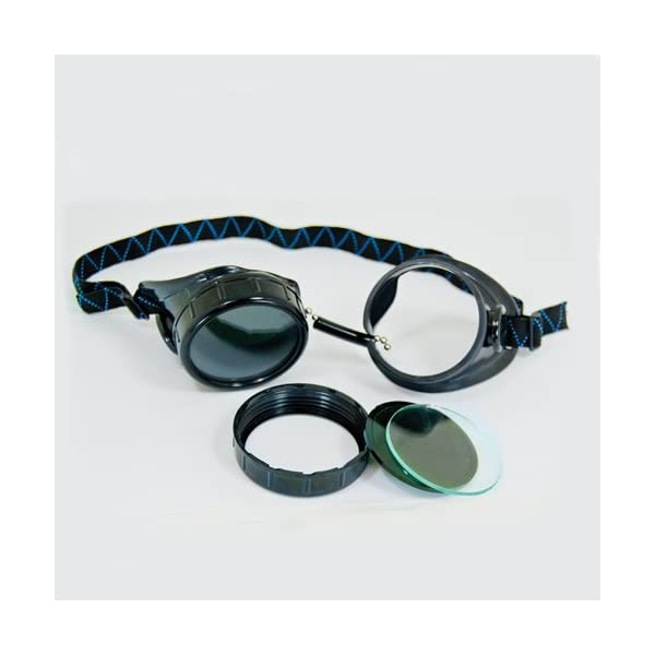 Black Welding Cup Goggles - 50mm Eye Cup 4