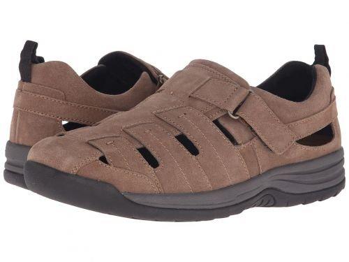 熱望する統計的受粉者Drew(ドリュー) メンズ 男性用 シューズ 靴 サンダル フラット Dublin - Olive Suede [並行輸入品]