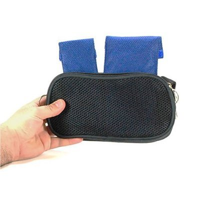 Soft Sided Travel Case with Air Flow Pocket for Your Cooling Wallets Holds Your Poucho
