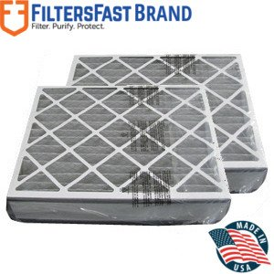 """FiltersFast Compatible Replacement for MERV-11 Trion Air Bear 20"""" x 25"""" x 5"""" (Actual Size: 19-5/8"""" x 24-1/8"""" x 4-7/8"""") 2-Pack HVAC Furnace Air Filter"""
