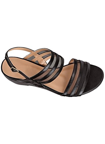 - AngelSteps Women's Adult Briley Dress Sandals 7.5 Medium US Women/Black