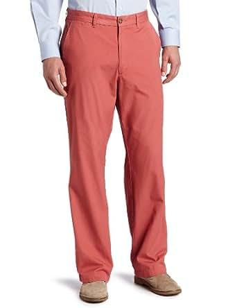 Dockers Men's Soft Khaki D3 Classic Fit Flat Front Pant, Dusty Cedar - discontinued, 32W x 30L