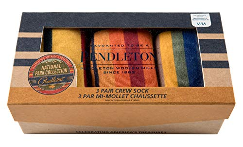 Pendleton Men's 3-pack National Park Socks Gift Box