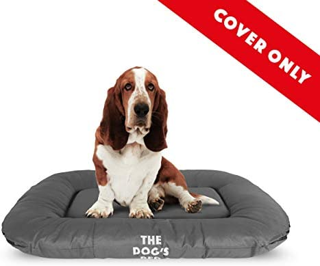 Replacement Cover ONLY for The Dog s Bed, Washable Quality Oxford Fabric, Medium 31.5 x 23.5