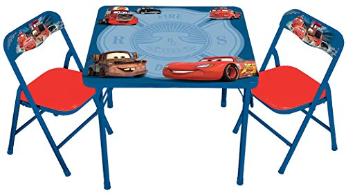 Disney Cars Hometown Heroes Erasable Activity Table Set with 3 (Disney Cars Table)