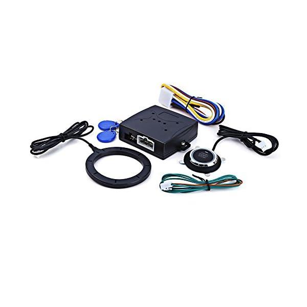 AUTOLOVER Smart RFID Car Engine Push Starter With Finger Engine Start Stop Transponder Immobilizer Keyless Go Entry System