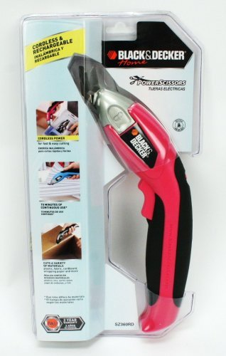 Black & Decker Home Power Scissors - Pink by BLACK+DECKER