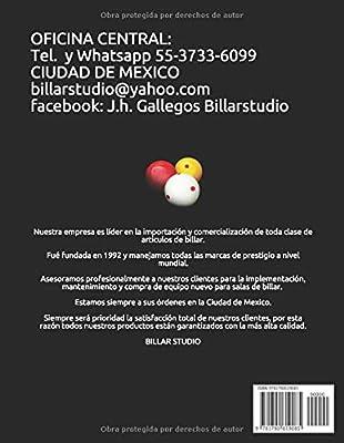 IMPLEMENTOS PARA JUGAR BILLAR: Amazon.es: GALLEGOS ROSAS, JESUS ...