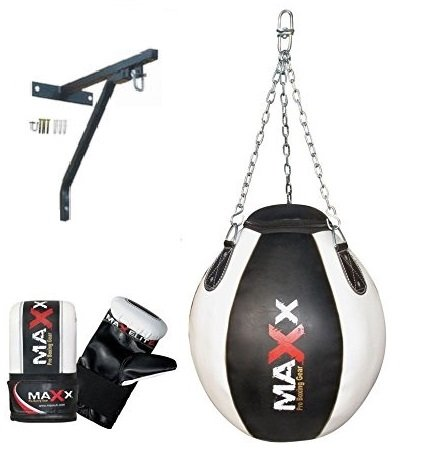 New Maxx Wrecking ball punch bag set package FREE CHAIN choice of colours