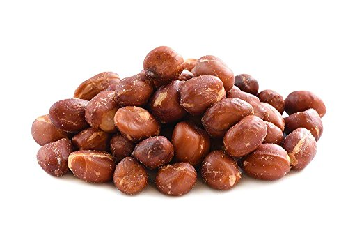Roasted Salted Redskin Peanuts in Bulk, 10lb Case - Bulk Salted Peanuts, Product of -