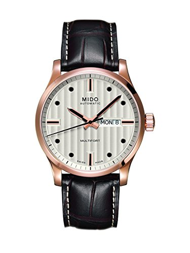 mido-mens-mido-m0054303603100-multifort-analog-display-swiss-automatic-brown-watch