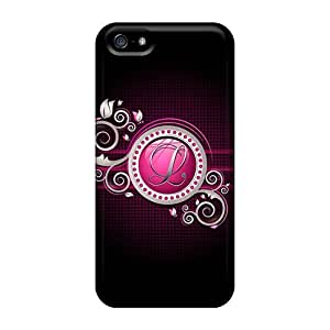 Defender Cases For Ipod Touch 4, Letter L 02 Pattern