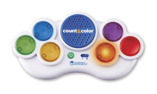 - Learning Resources Count & Color Electronic Flash Card