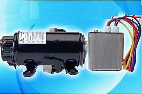 Auto GOWE CA (a/c) Compresor 72 V Velocidad variable compresor para EV de vehículo eléctrico cabina de locomotora coche aire acondicionado: Amazon.es: ...