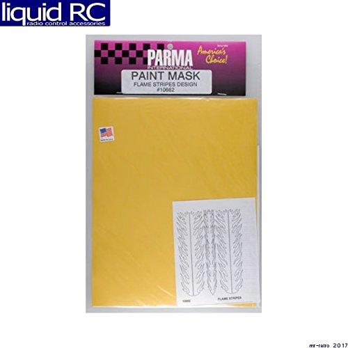 [Parma 10662 Flame Stripes Paint Mask] (Parma Paint Mask)