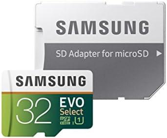 Samsung EVO 32GB MicroSD Card w/Adapter