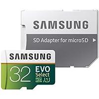 Samsung 32GB 95MB/s (U1) MicroSD EVO Select Memory Card...