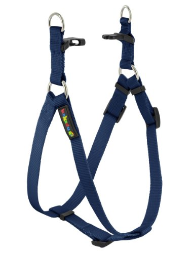 "Empire Harness, Step In Dog Harness by Kakadu Pet, Large, 1"" x 21-32"", Marine"
