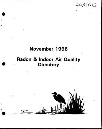 Radon and Indoor Air Directory