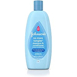 Johnson's No More Tangles Extra Conditioning Shampoo & Detangler, (Pack of 2)