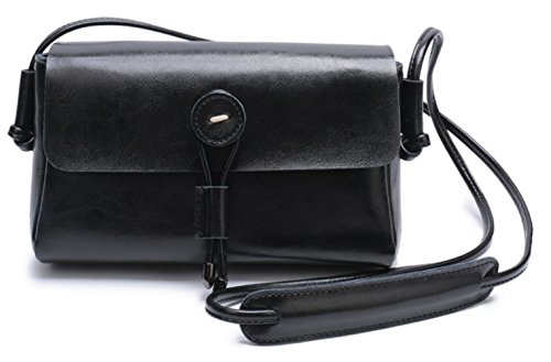 à Rétro à Black Bandoulière Sac Femme Casual Bag Femmes Mode KYOKIM Messenger Main Sacs fB4nxza