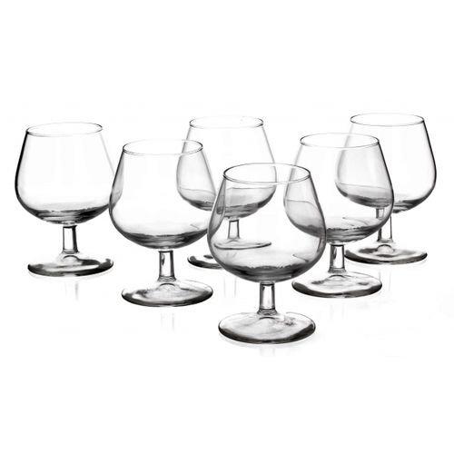 Set von 6Brandy Cognac-Gläser Diamant 240ml
