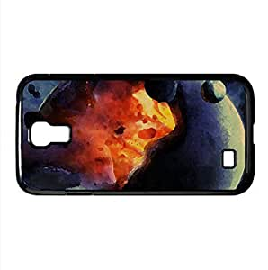 Planet Impact Watercolor style Cover Samsung Galaxy S4 I9500 Case