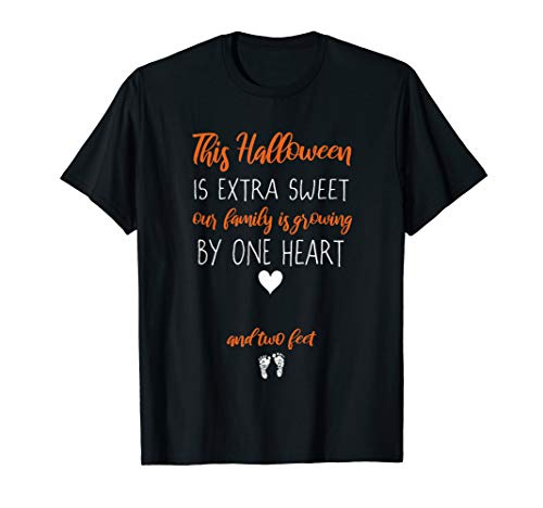 Expecting Mom Halloween Pregnancy Reveal T-Shirt ()