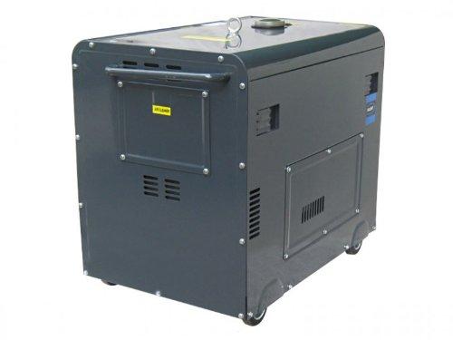 Elektrostarter ATS Varan Motors 92623-ATS Diesel Stromerzeuger schallged/ämpft Stromaggregat 5kVA 400V /& 230V
