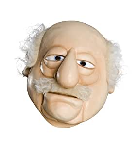 Rubie's Costume Co The Muppets Deluxe Overhead Latex Mask, Waldorf (máscara/ careta)