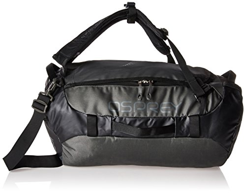 Osprey Packs Transporter 40 Expedition Duffel, Black, One Si