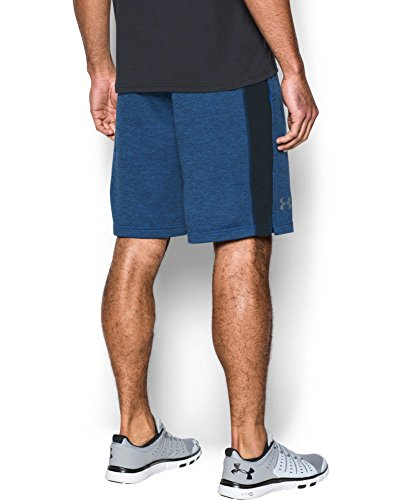 Under Armour Men's Tech Terry Shorts, Blue Marker (789)/Silver, Small by Under Armour (Image #1)