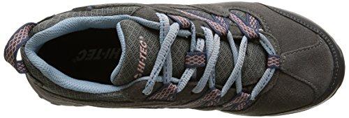 Hi-Tec Celcius Wp - Zapatillas de deporte Mujer Azul - Bleu (Steel Grey/Lt Blue/Syrup)