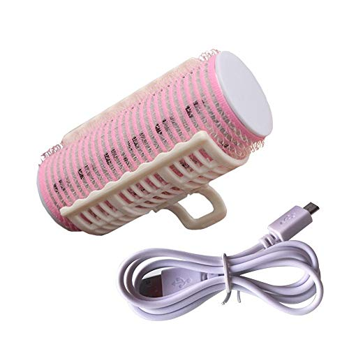 Enjoyment Professional Mini Portable Hair Curler Rollers clips Curling Irons USB Rechargeable Bangs Curler