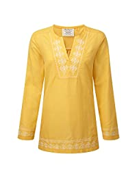 Craghoppers Womens/Ladies Clemence Long Sleeved V-Neck Top
