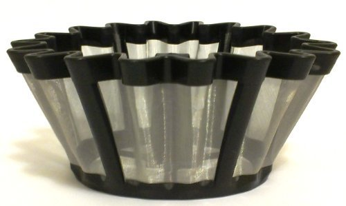 Universal Gold Tone Coffee Filter- The #1 Permanent Coffee Filter. (6-12 ()