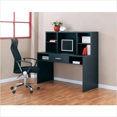 - Organize It All 39351W Compact Desk, Black