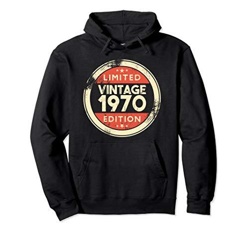 49th Birthday Gift Vintage 1970 Hoodie- 49 Years Old Gifts