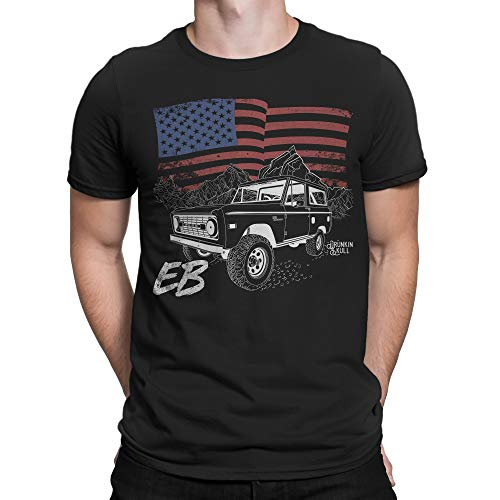 Used, Ford Early Bronco EB, American Flag T-Shirt - Multiple for sale  Delivered anywhere in USA
