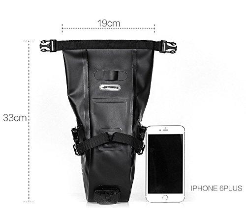 Bolsa bikepacking trasera compacta BICICLETAS Y PIRULETAS 3