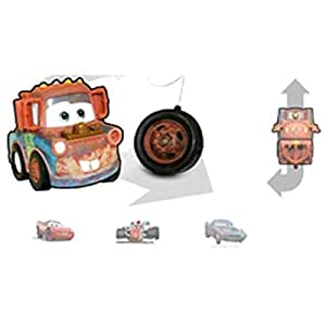 Mattel T9549 Disney Cars - Mini coche teledirigido con diseño de Mate