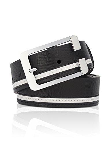 Demon&Hunter Casual Series Men's Belt B9010(Black) ()