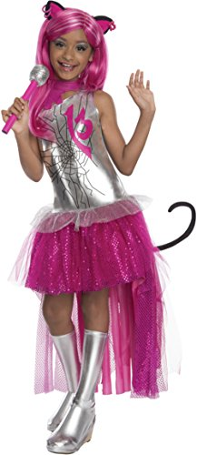 Childs Girl's Monster High Catty Noir Costume And